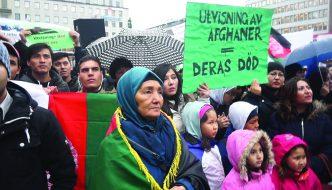 Hazarafolket – som höstlöv i vinden