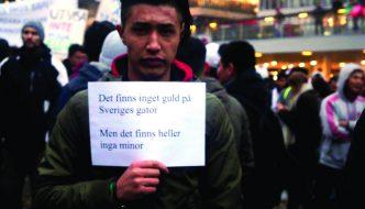 Förtvivlan bland hazarer i Sverige